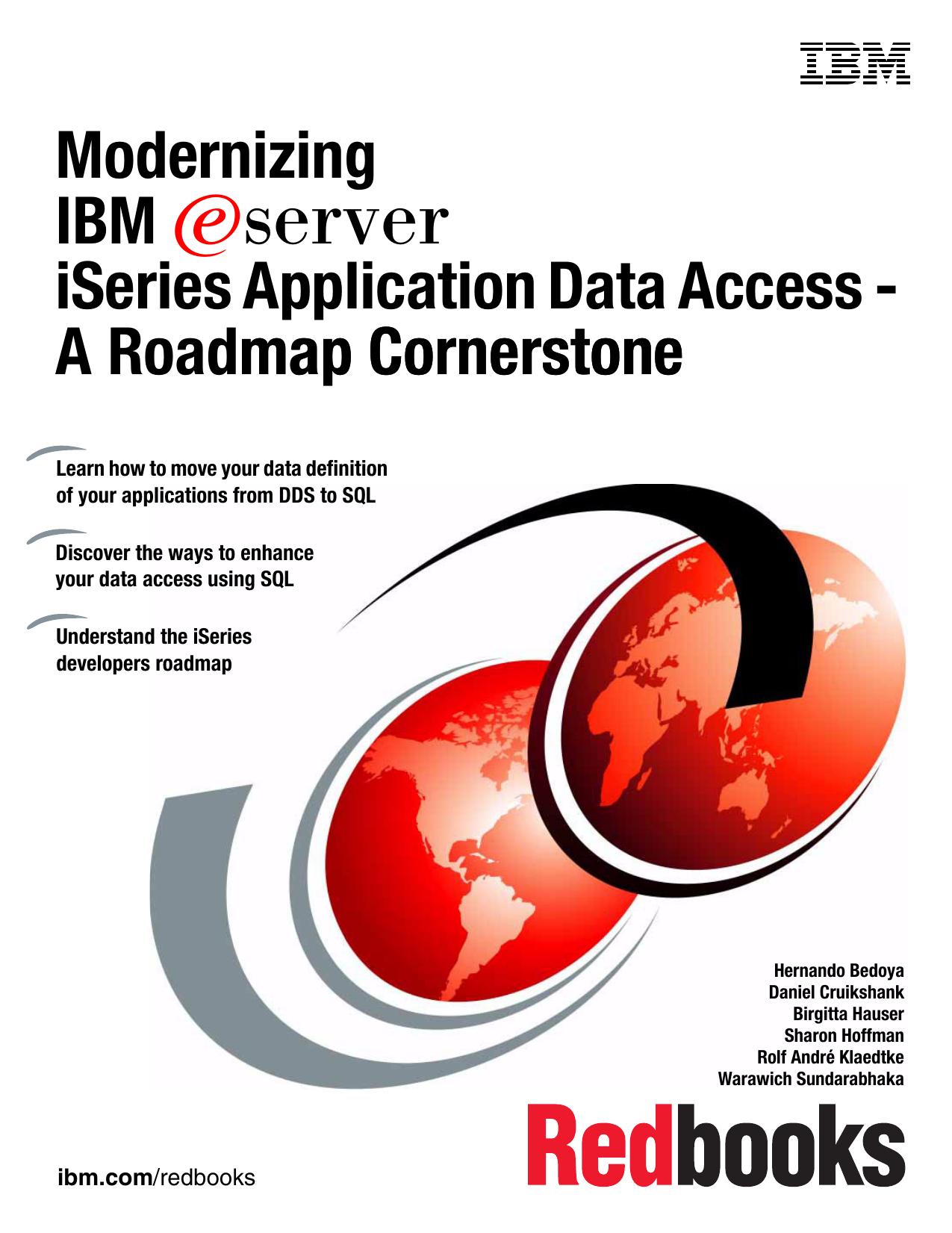 Modernizing IBM Eserver iSeries Application Data | manualzz com
