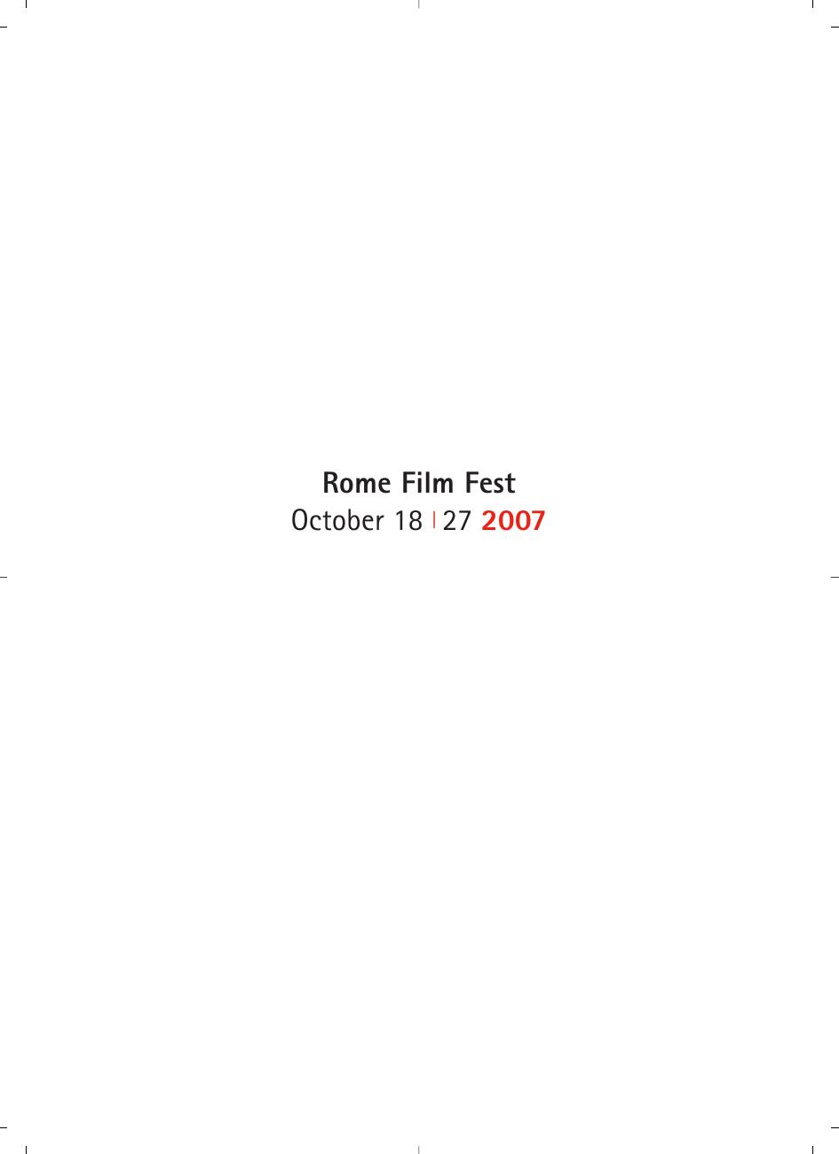 Studio Parisi E Associati Milano rome film fest october 18 | 27 2007 | manualzz