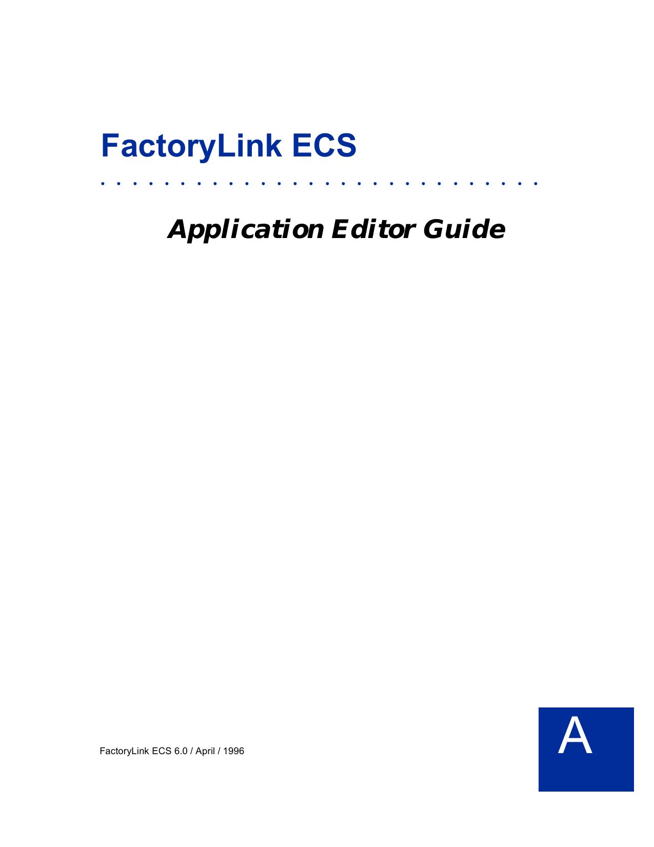 FactoryLink ECS - IIS Windows Server | manualzz com