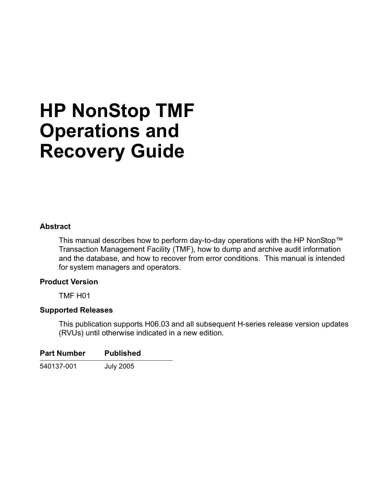 ... Array - hp nonstop tandem manuals rh hp nonstop tandem manuals  zettadata solutions