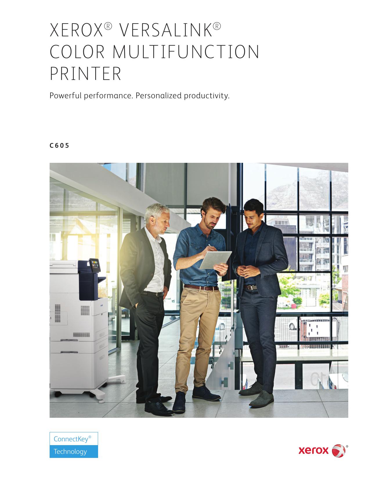Brochure – VersaLink C605 | manualzz com