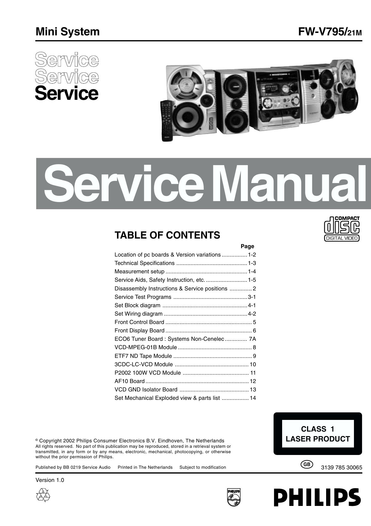 Service Manual FW-V795/21M - Diagramasde.com   manualzz.com on