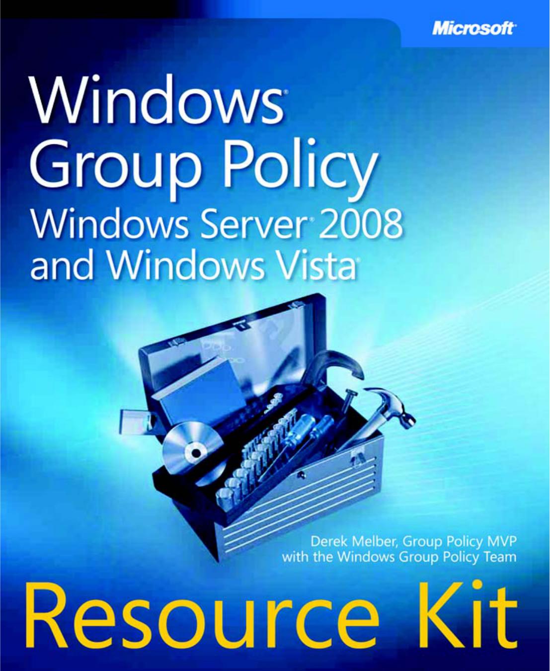 Windows Group Policy Resource Kit | manualzz com