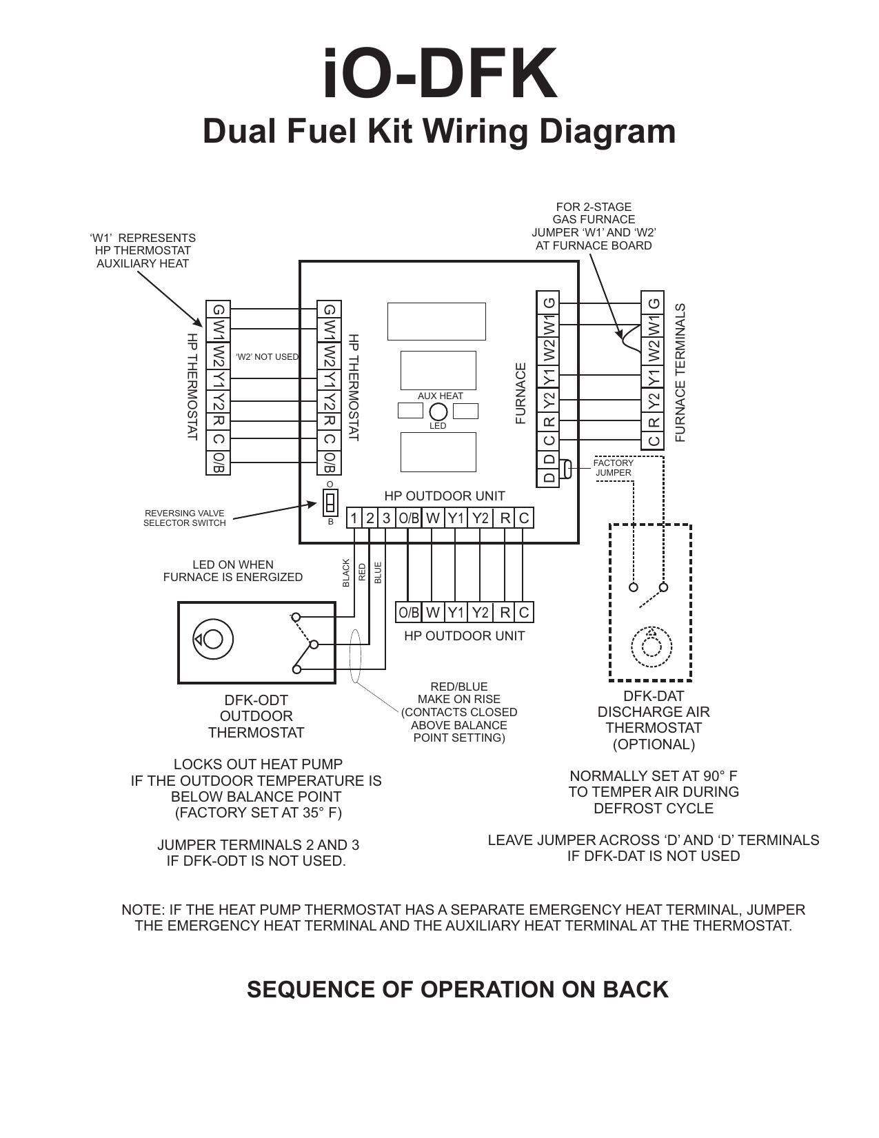 dual fuel furnace wiring diagram io dfk installation sheet cdr manualzz  io dfk installation sheet cdr manualzz