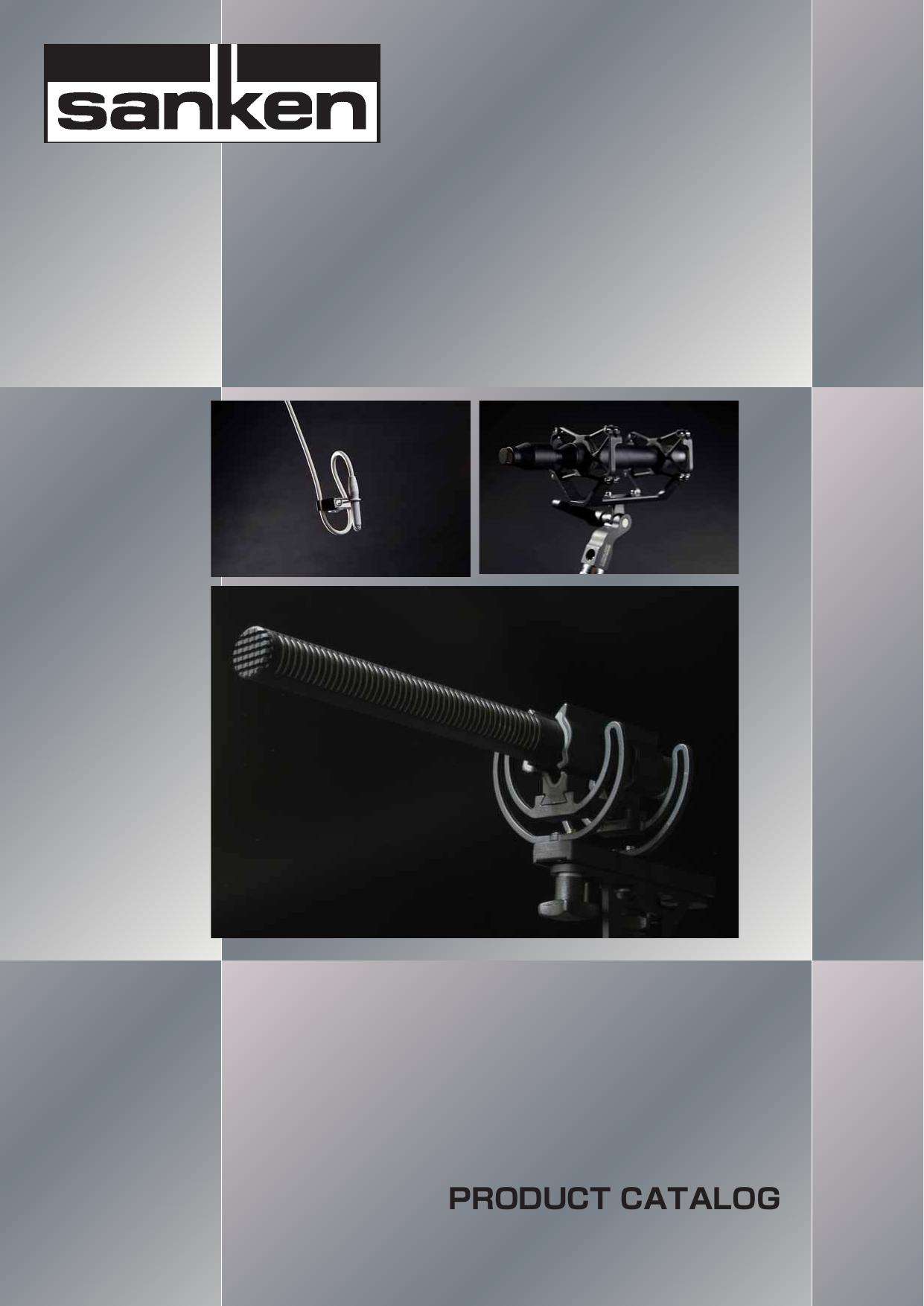 product catalog - sanken microphone co  ,ltd  | manualzz com