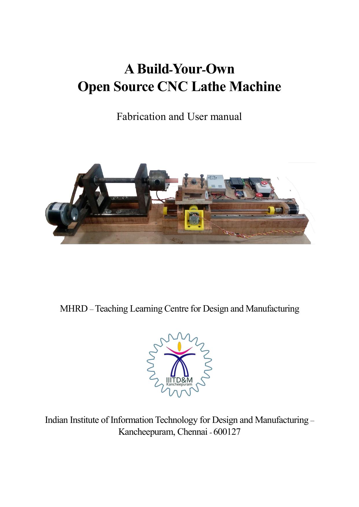 A Build-Your-Own Open Source CNC Lathe Machine - TLC