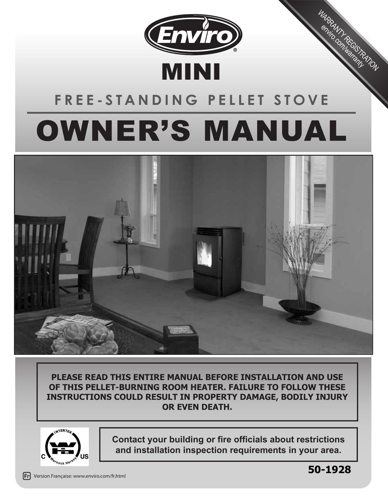 owner`s manual - Fireplace Warehouse ETC - Manualzz
