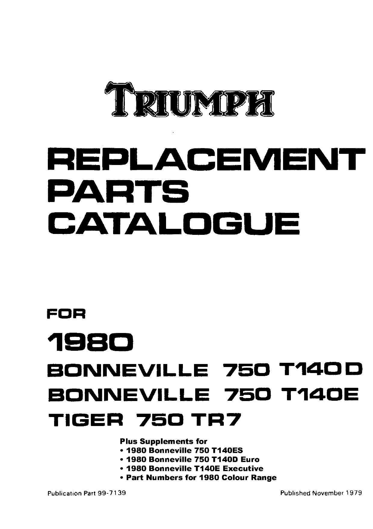 Pair TRIUMPH T140E BONNEVILLE TR7 FOOTREST RUBBER 83-7256 83-7259
