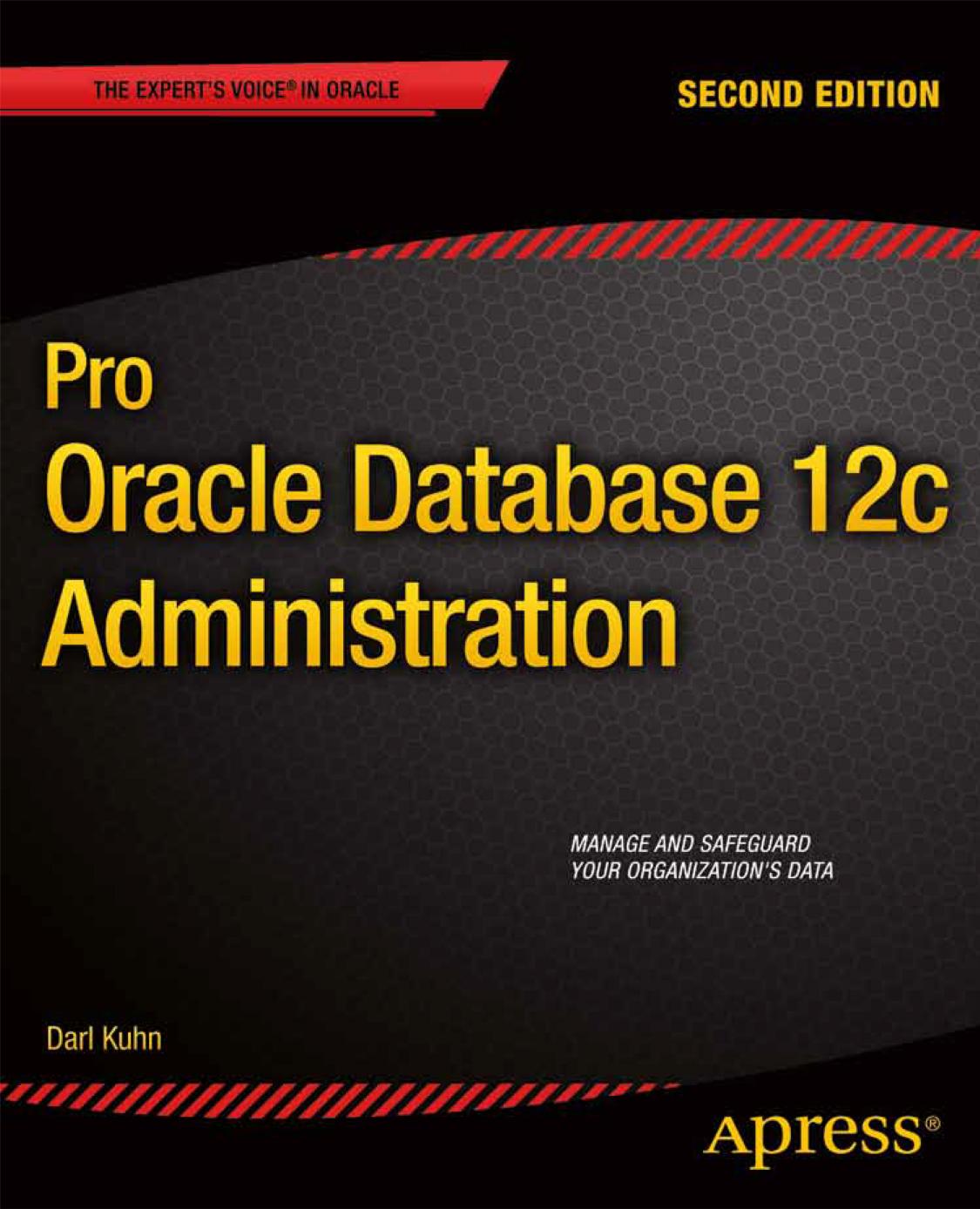 Pro Oracle Database 12c Administration | manualzz com