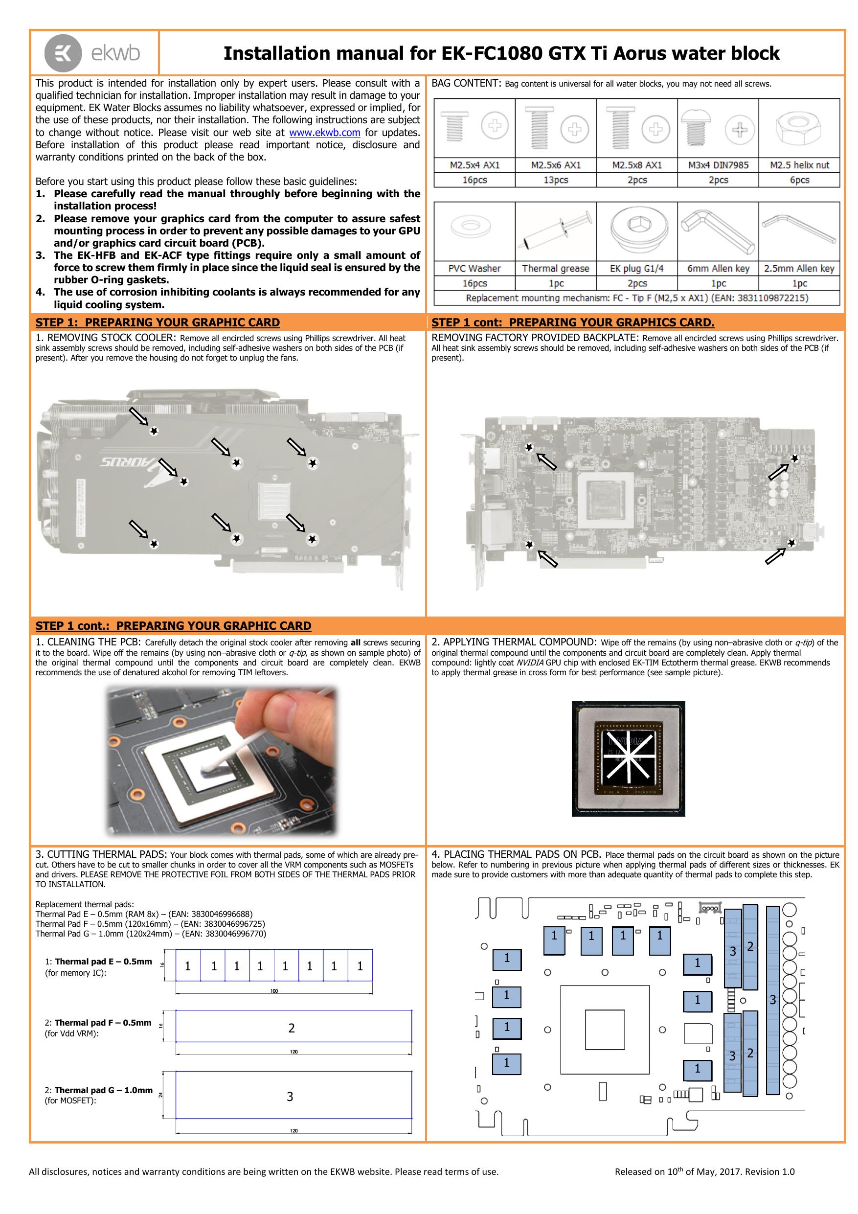 EK Water Blocks 3830046996732/Hardware Cooling Accessory