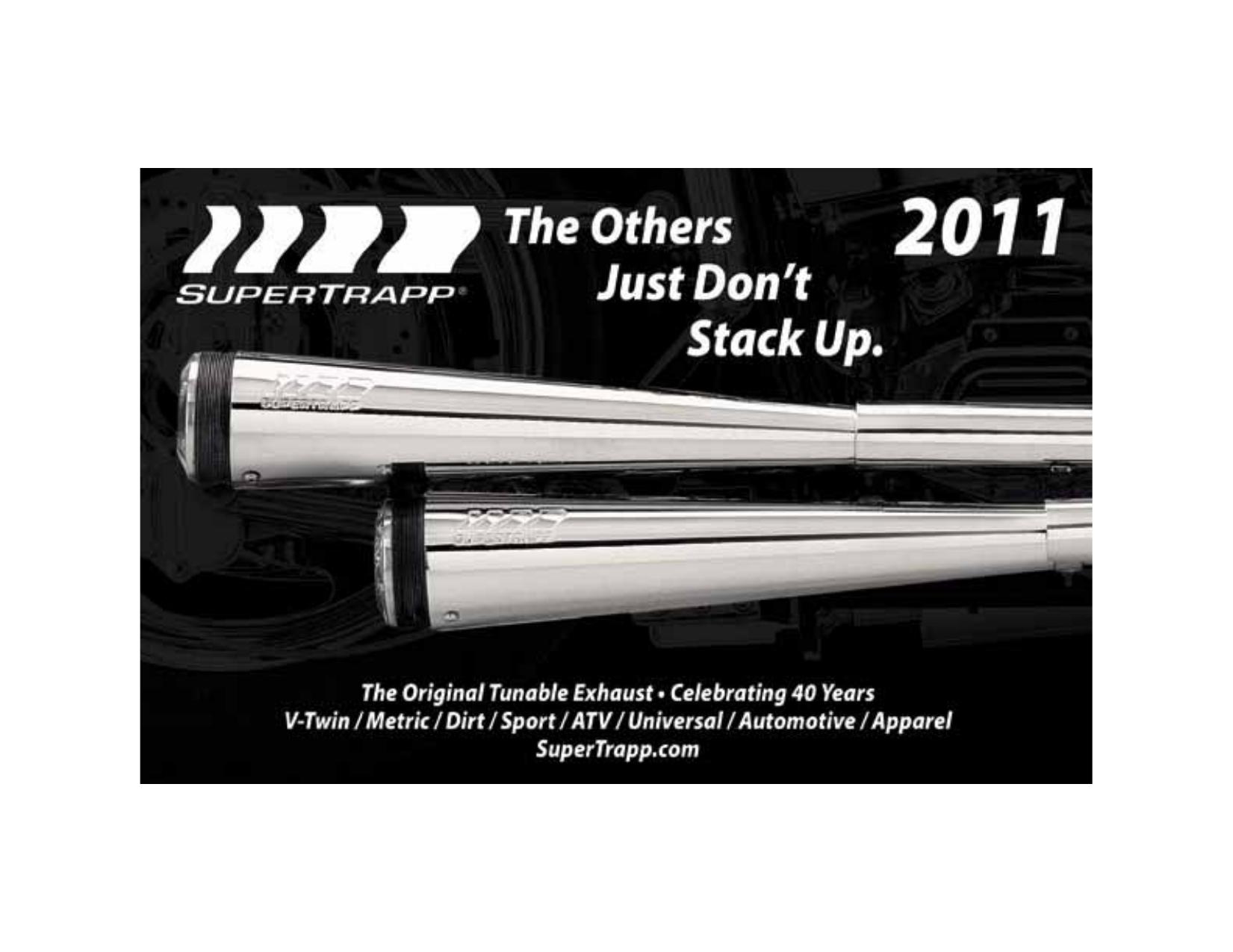 SuperTrapp 813-3601 Aluminum Racing Series Slip-On