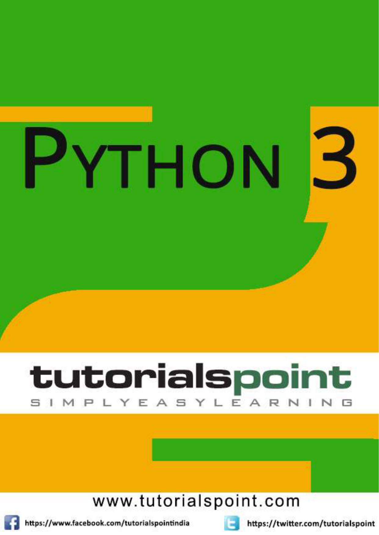 Python 3 Tutorialspoint Manualzz Com