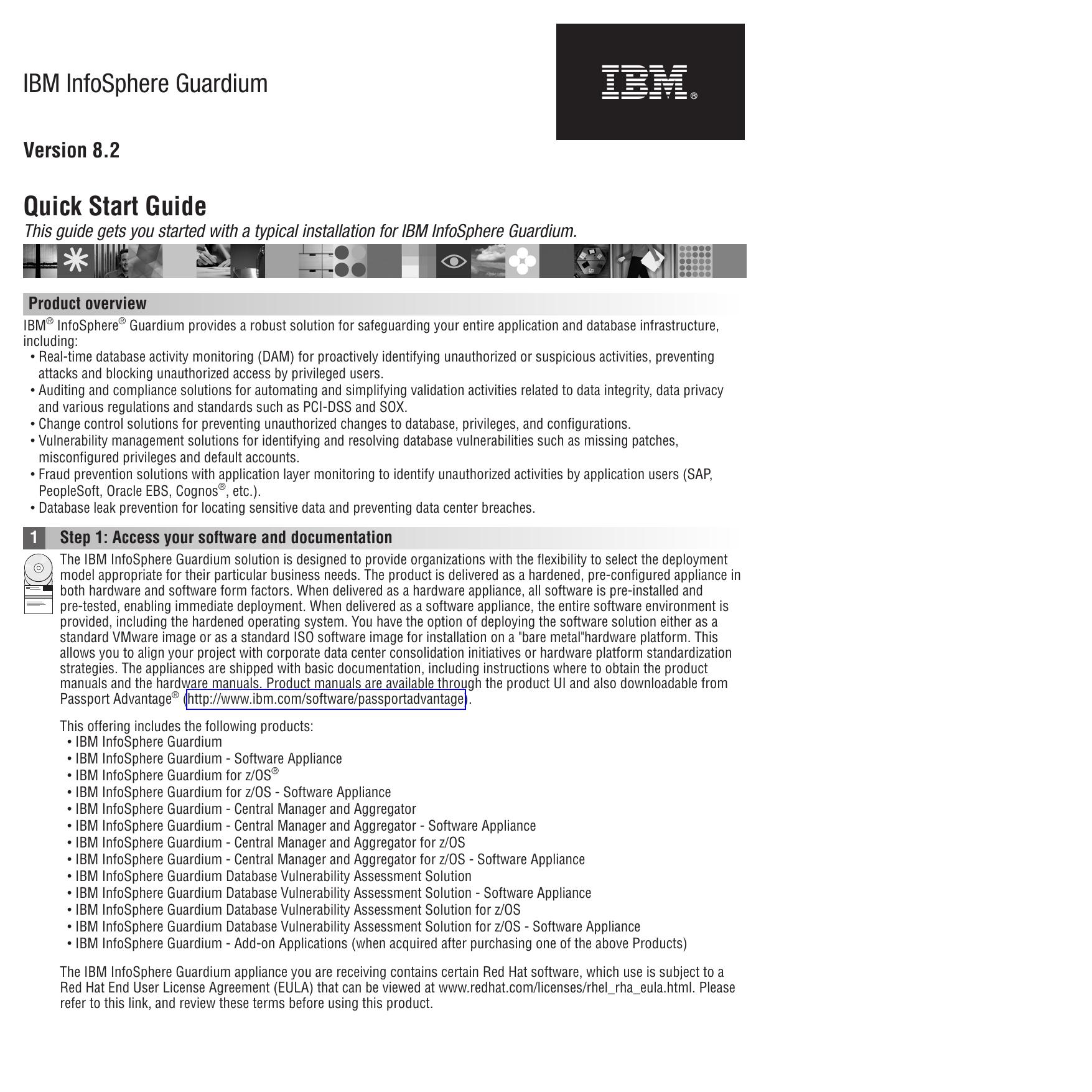 IBM InfoSphere Guardium Quick Start Guide | manualzz com