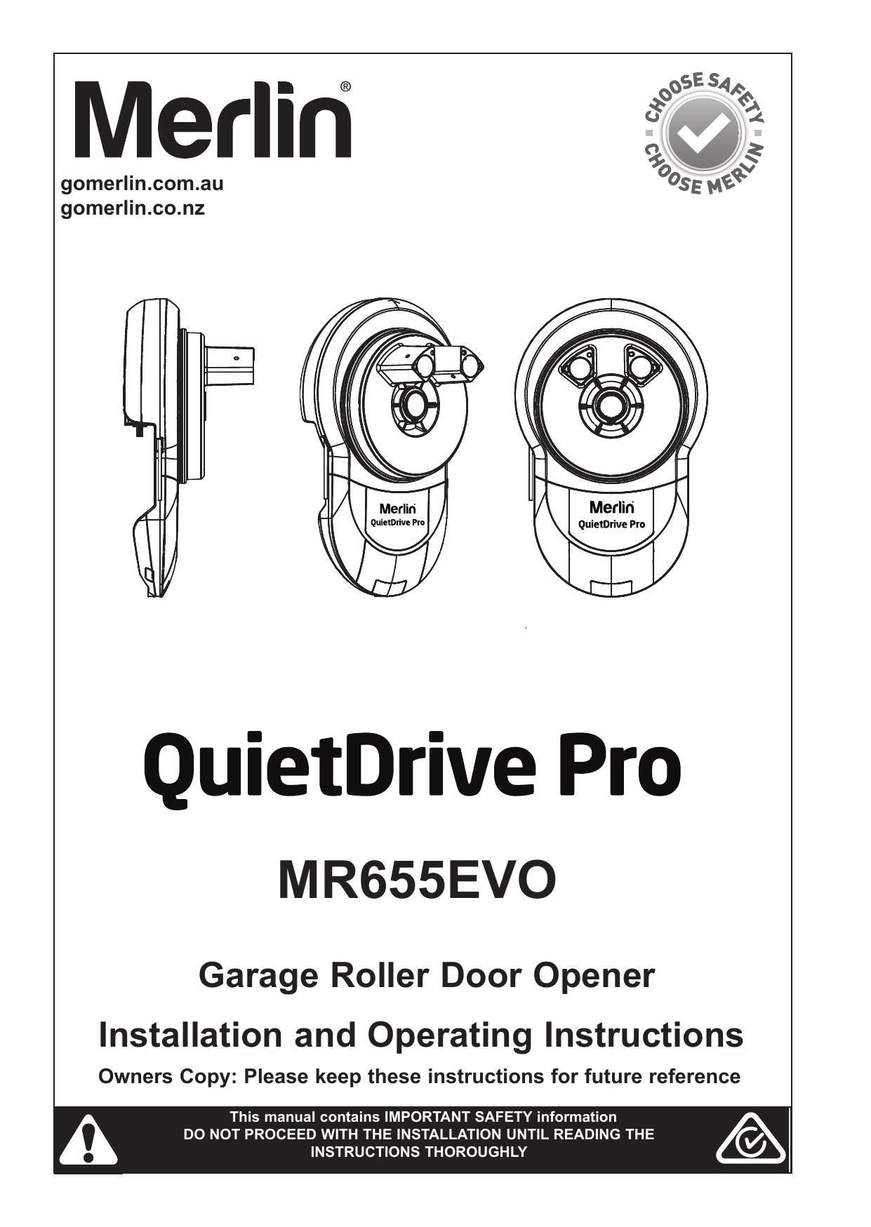 Merlin Garage Door Opener Manual Override - Garage Designs