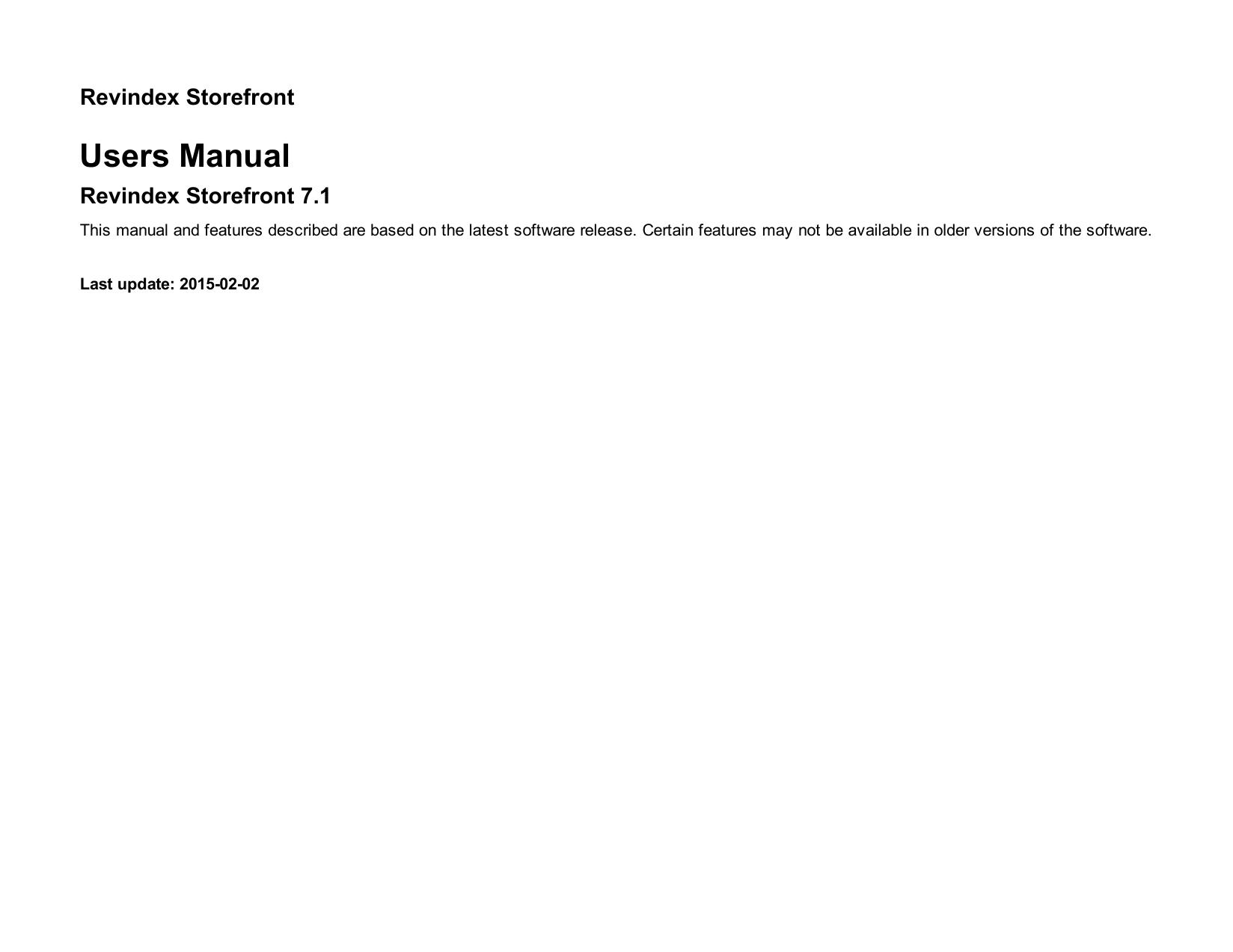 Users Manual | manualzz com