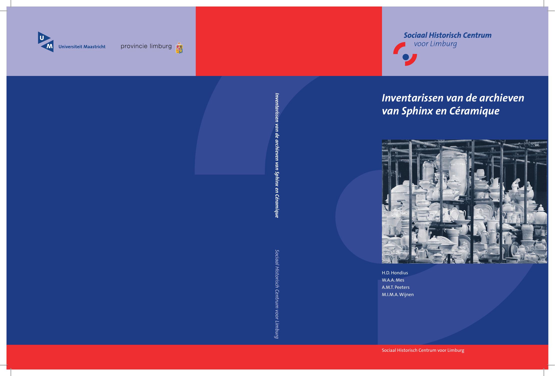 6068641a1c4 omslag inventaris.indd - De Maastrichtse Aardewerkindustrie ...