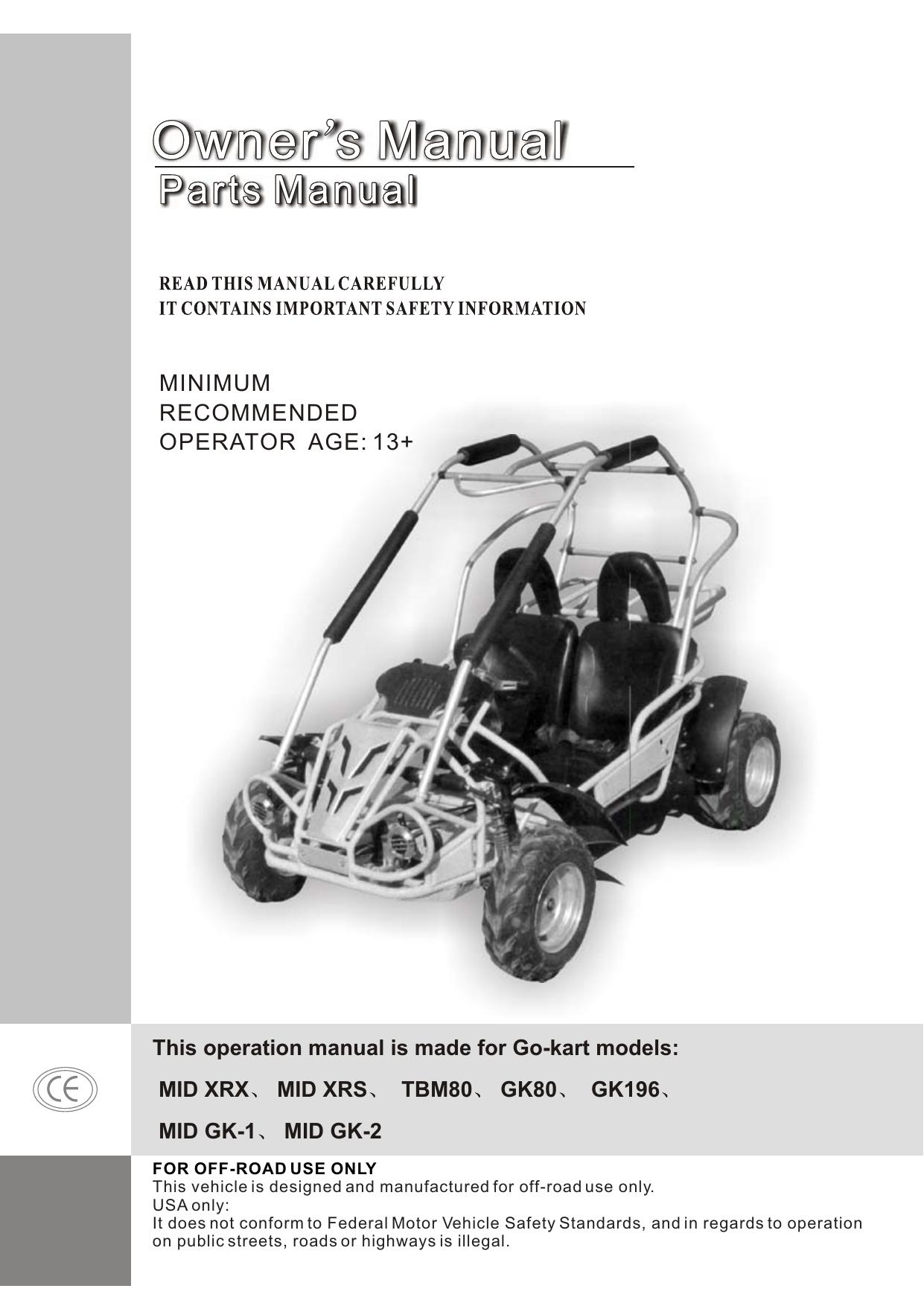 minimum recommended operator age: 13+ | manualzz com