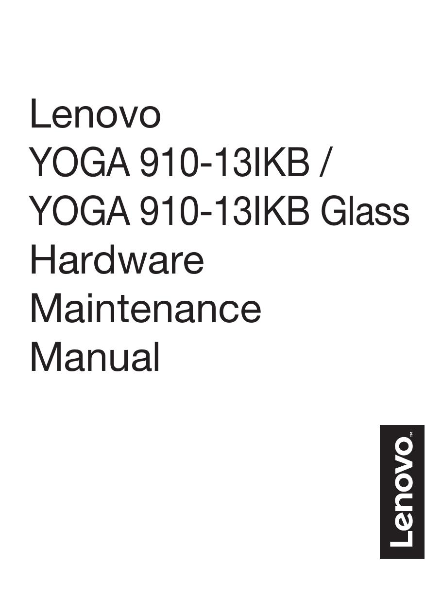 Lenovo YOGA 910-13IKB HMM | manualzz com