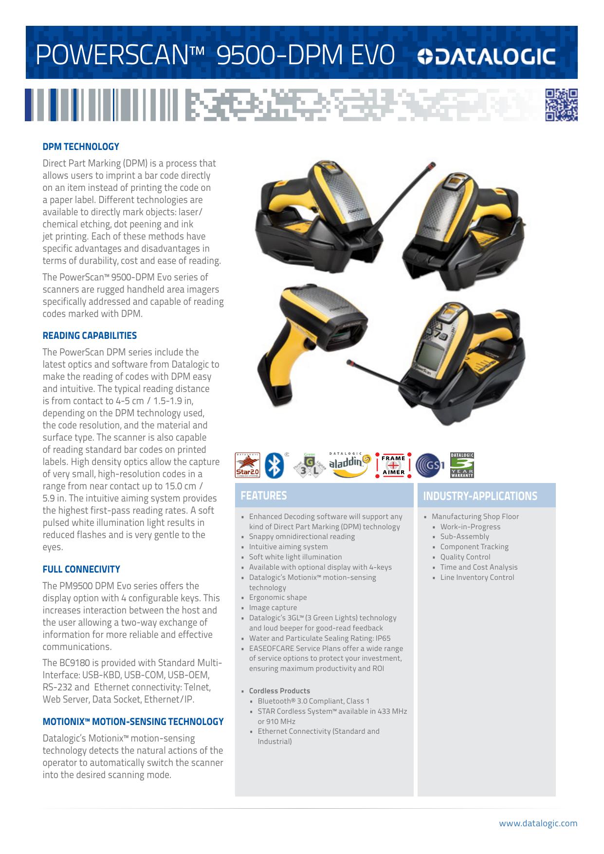 powerscan™ 9500-dpm evo - Legacy Technology Services
