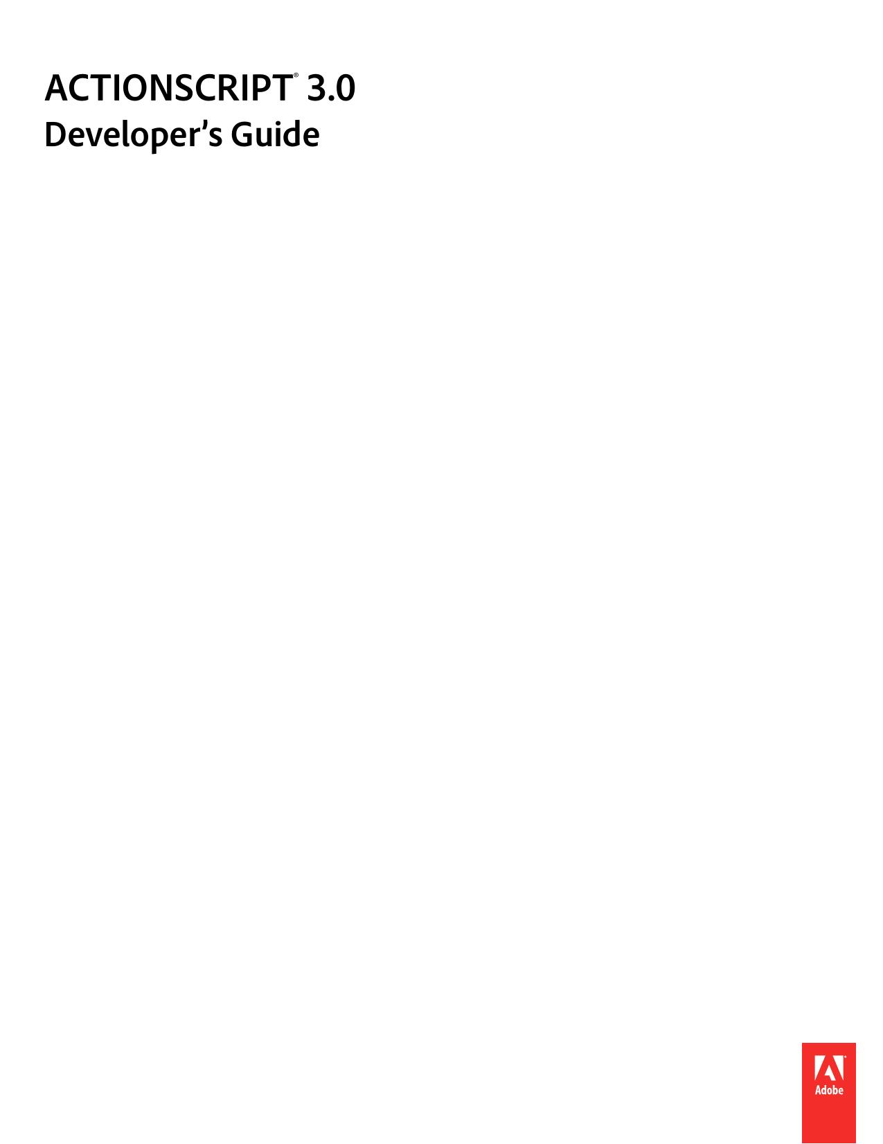 ActionScript 3.0 Developer`s Guide | manualzz.com