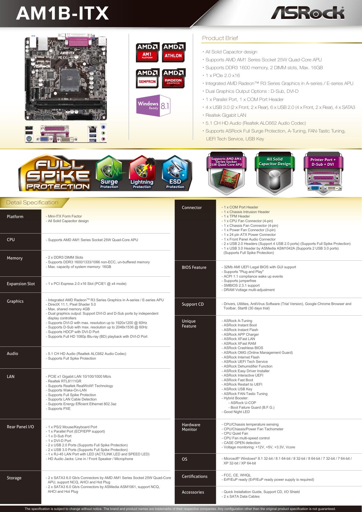 ASRock AM1B-ITX ASMedia USB 3.0 Drivers Update