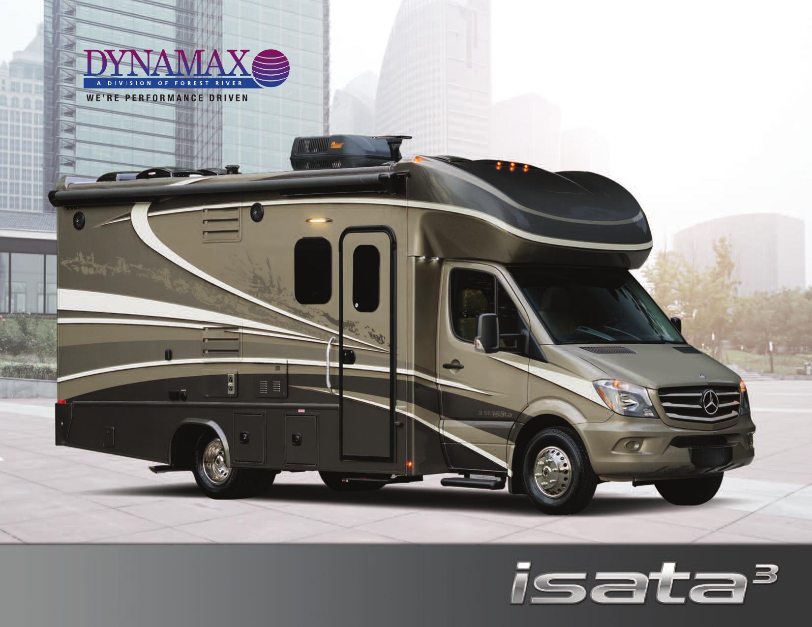 Dynamax Isata 3 2016 Brochure Motorhomes 2 Go | manualzz com