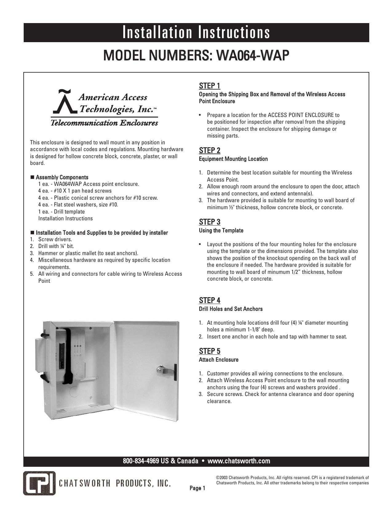 Installation Instructions | manualzz.com on