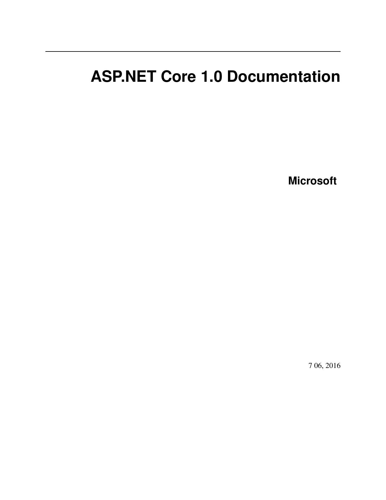 ASP NET Core 1 0 Documentation | manualzz com