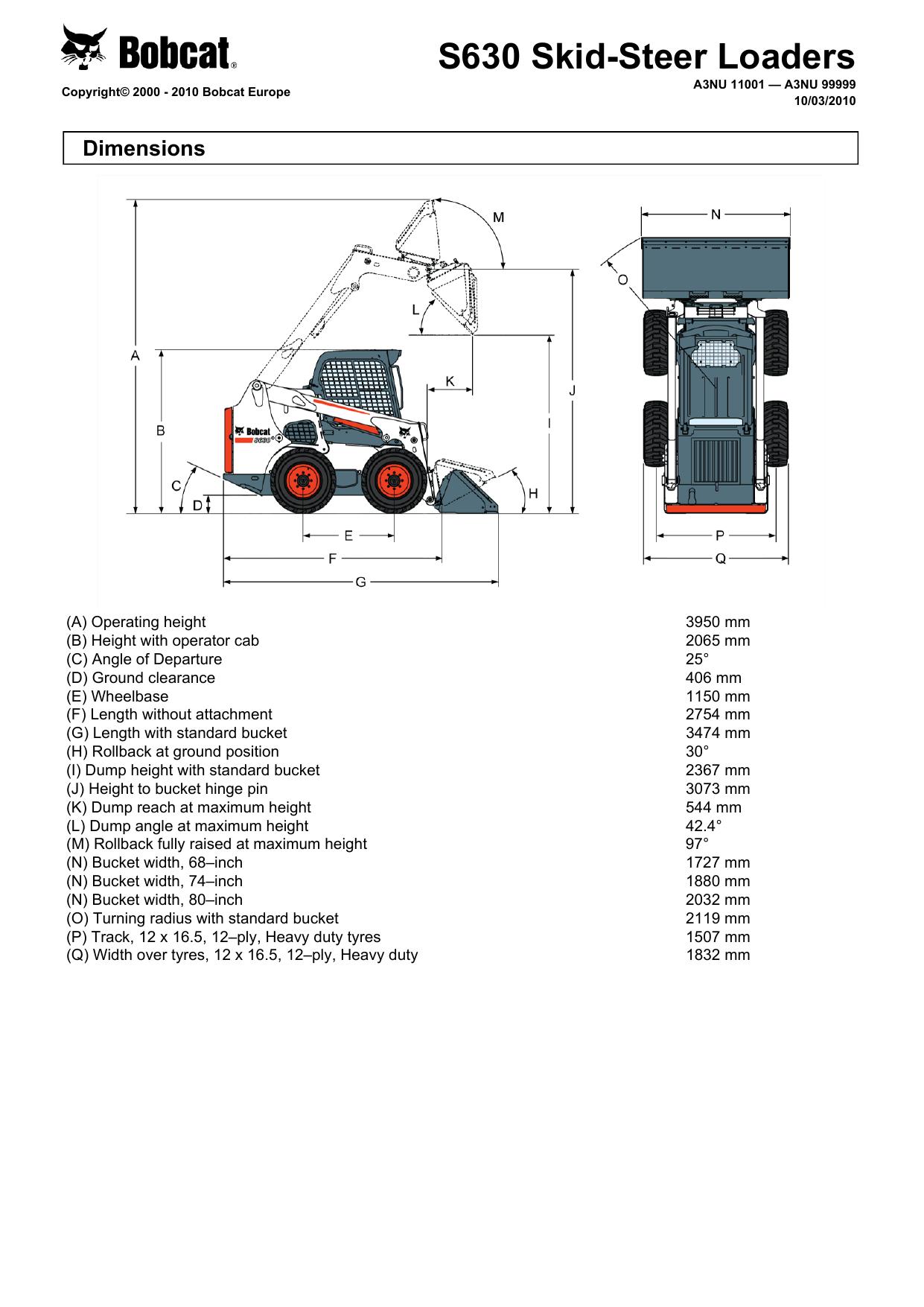 S630 Skid-Steer Loaders | manualzz com