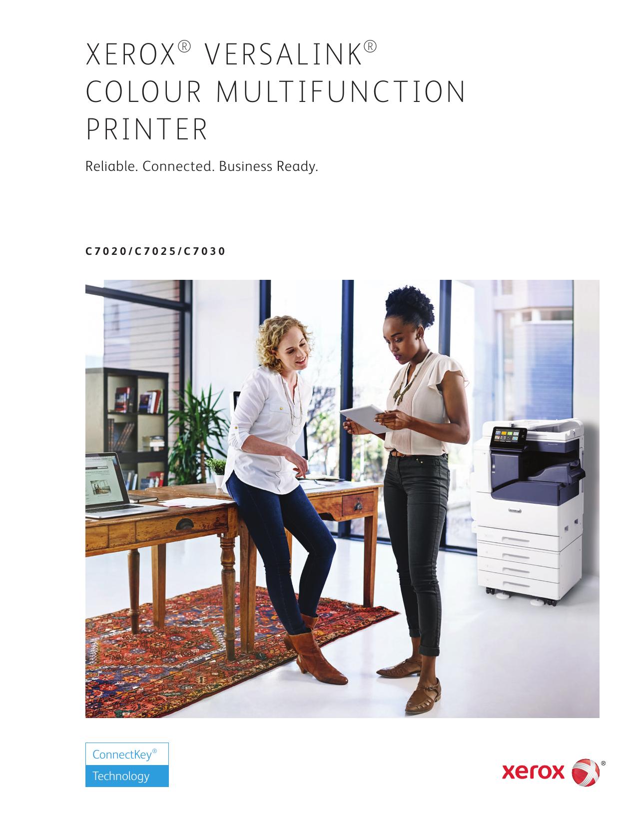 Xerox VersaLink C7020/C7025/C7030 Color Multifunction