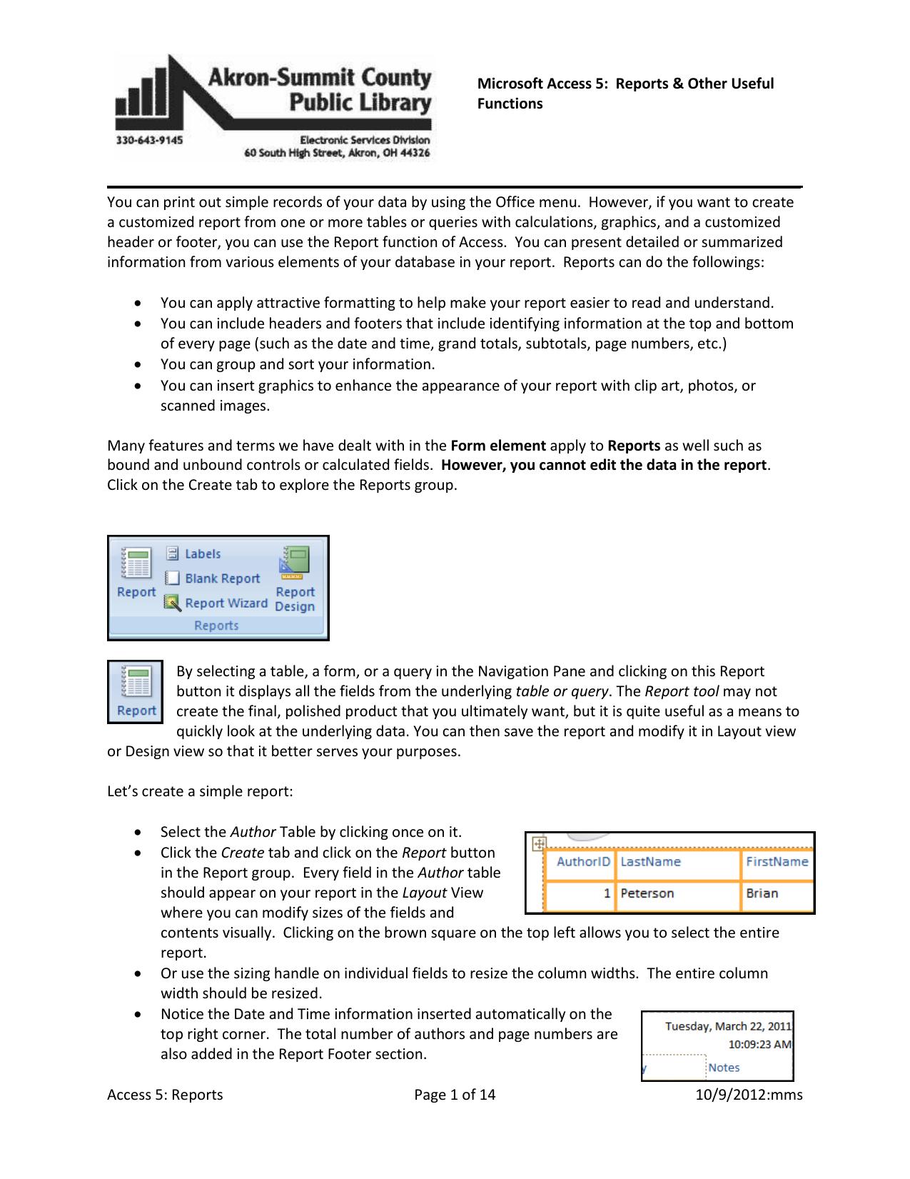 Reports Page 1 of 14 10/9/2012:mms Microsoft | manualzz com