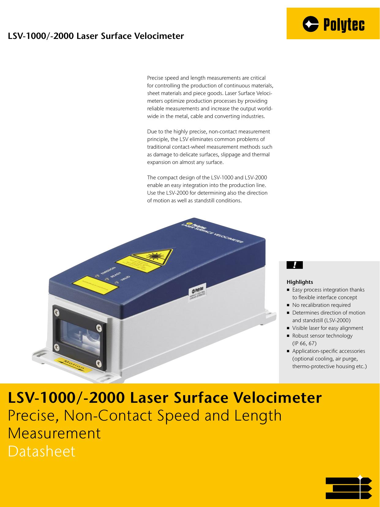 LSV-1000 - Polytec Inc  | manualzz com