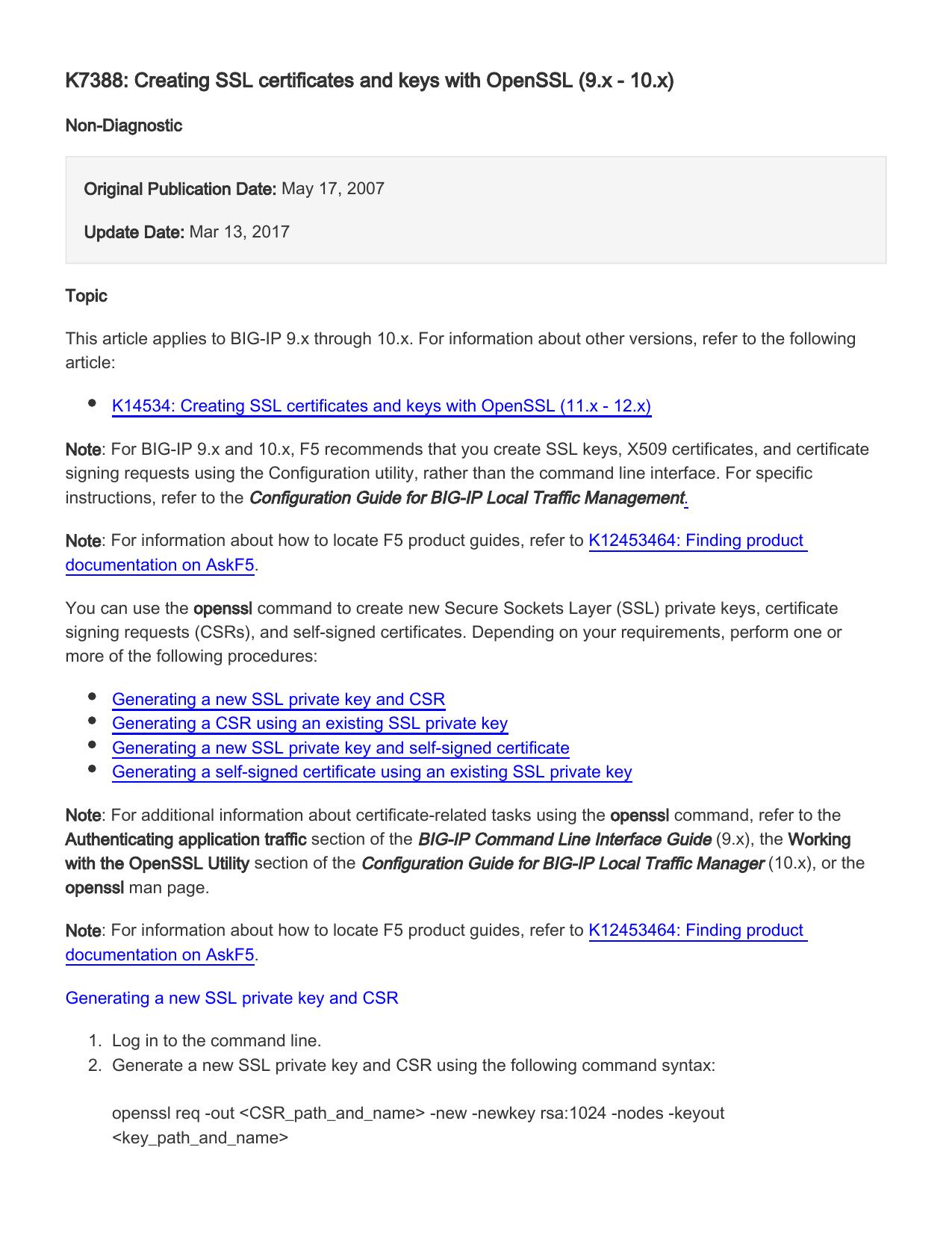Openssl generate public key from csr program