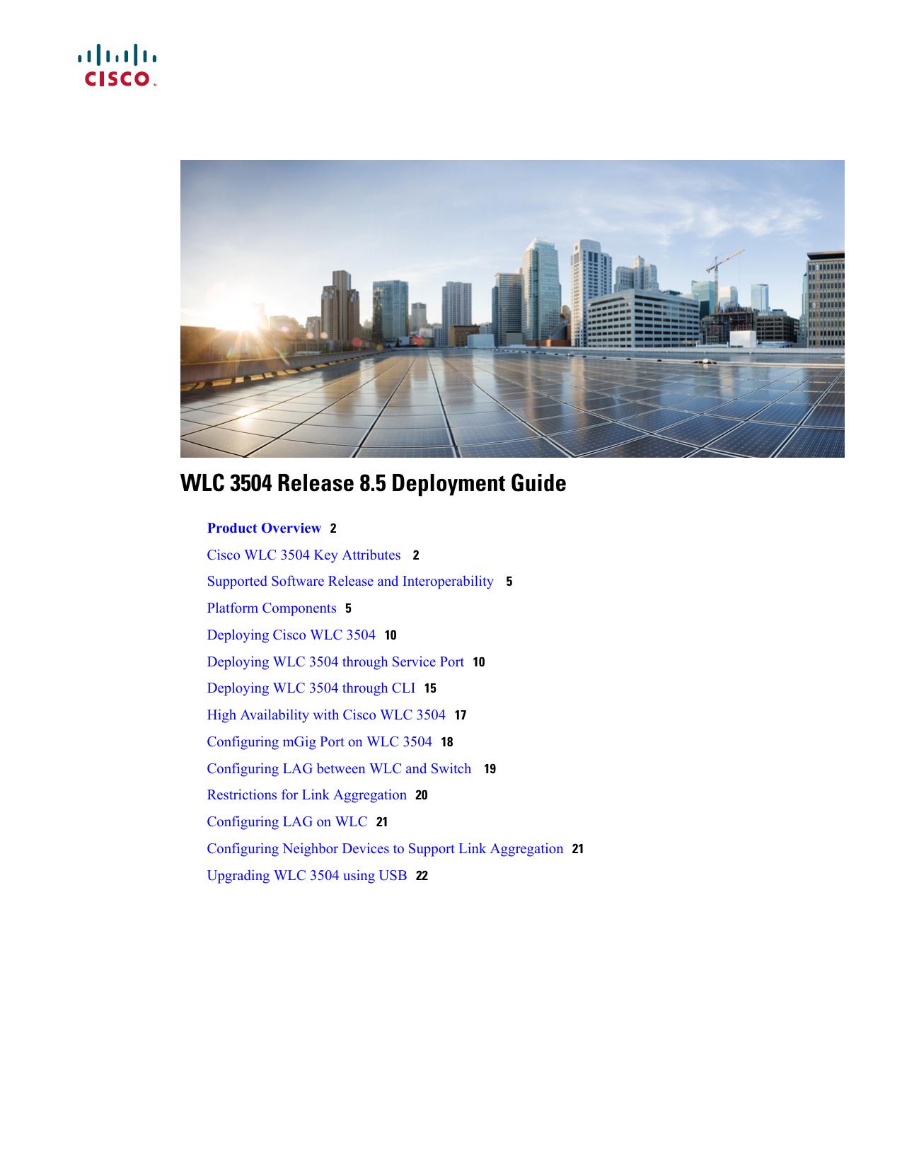 WLC 3504 Release 8 5 Deployment Guide | manualzz com