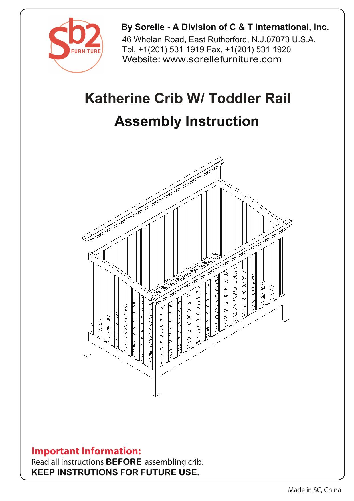 Sorelle verona crib & changer adult bed rail sorellerails. Com.