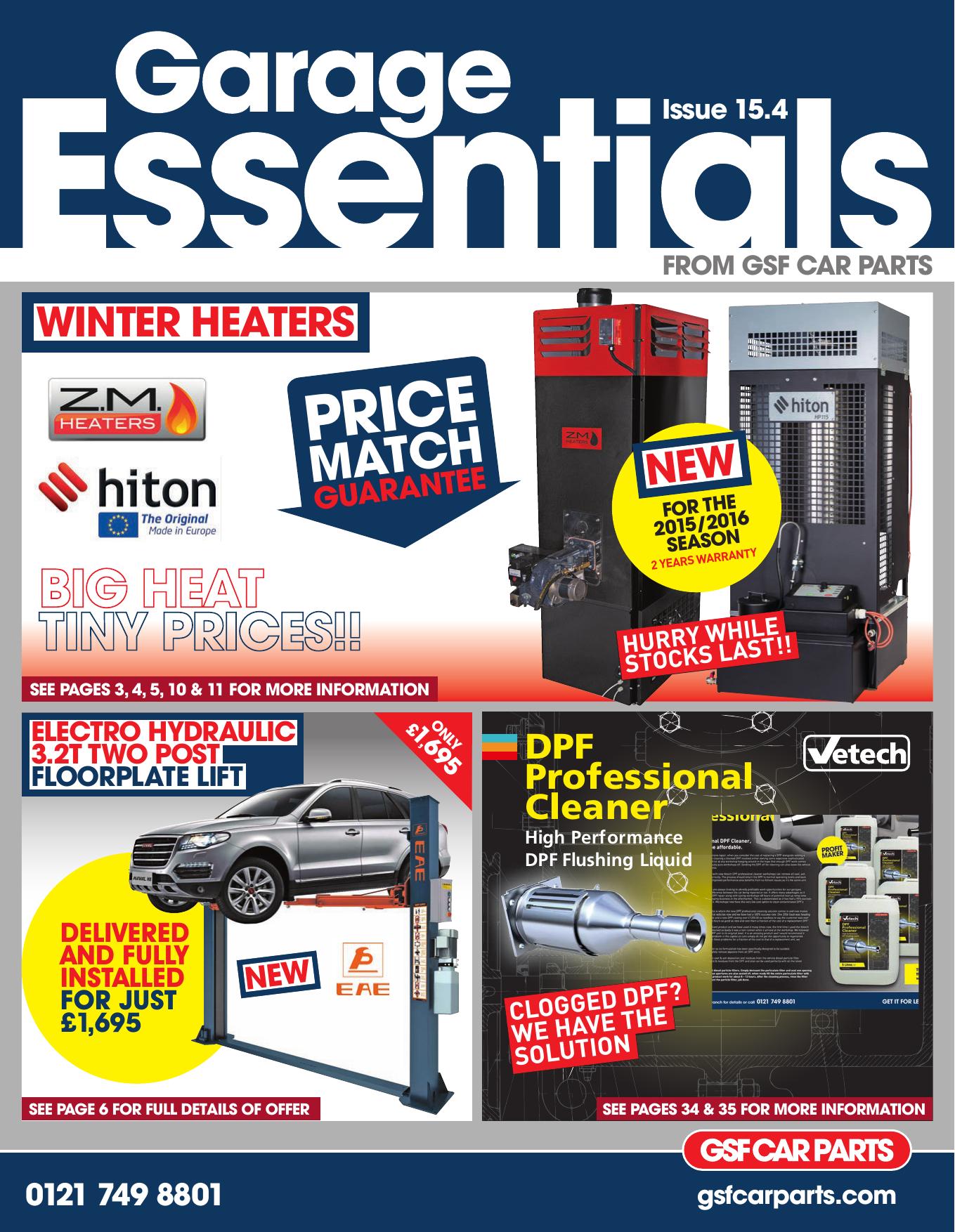 Winter Heaters Gsf Car Parts Manualzz Com