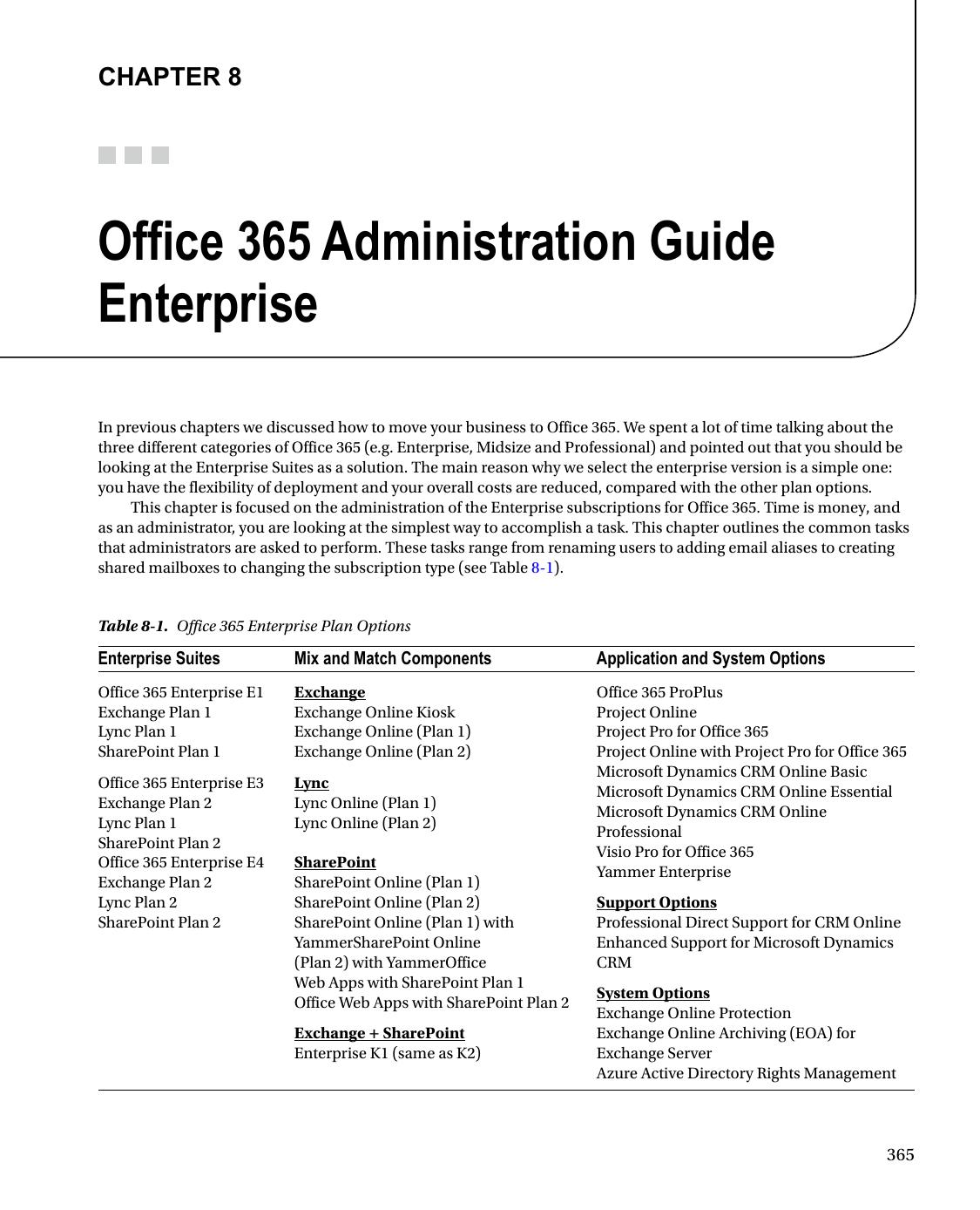 Office 365 Administration Guide Enterprise | manualzz com