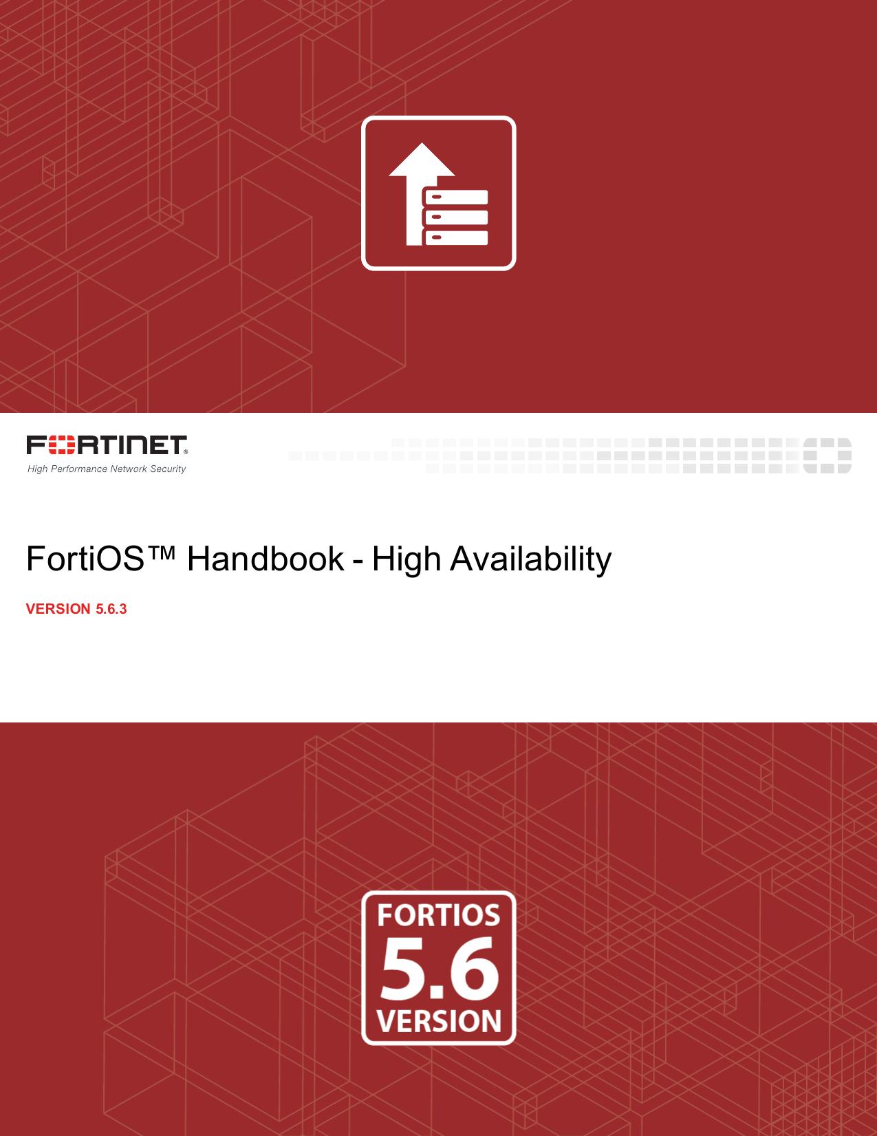 High Availability for FortiOS 5 6 3 | manualzz com