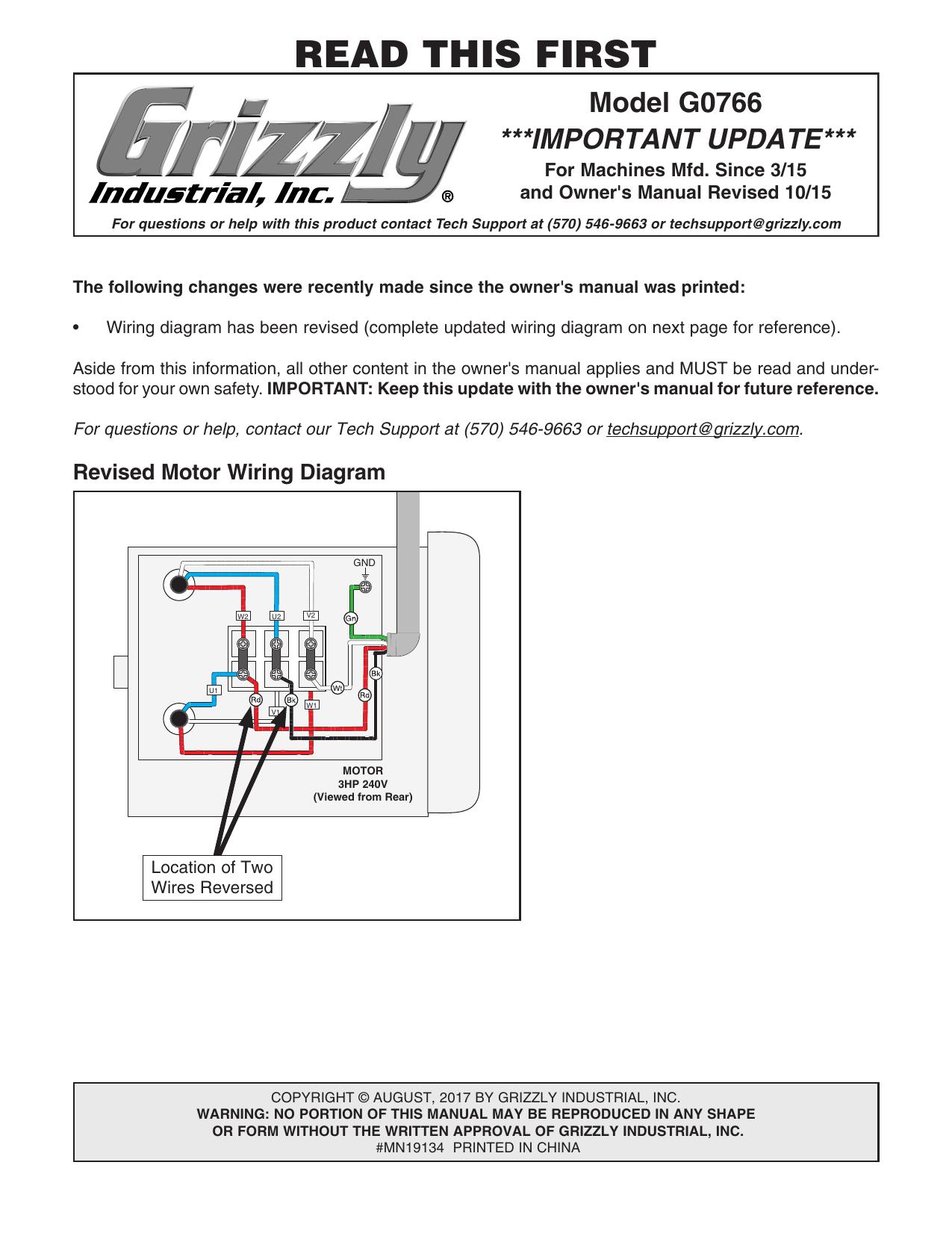G0766 Grizzly Industrial Manualzz