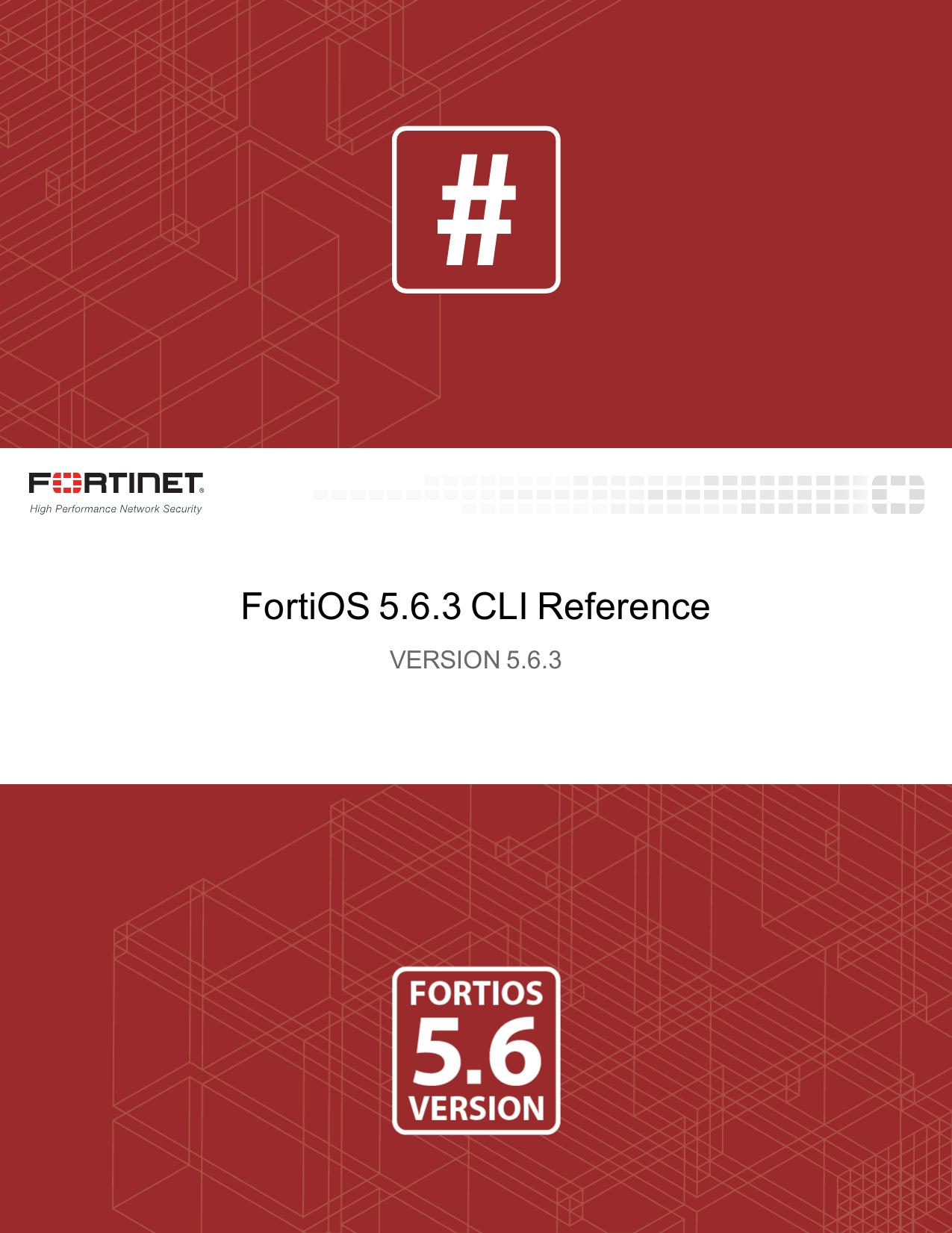 FortiOS 5 6 3 CLI Reference | manualzz com