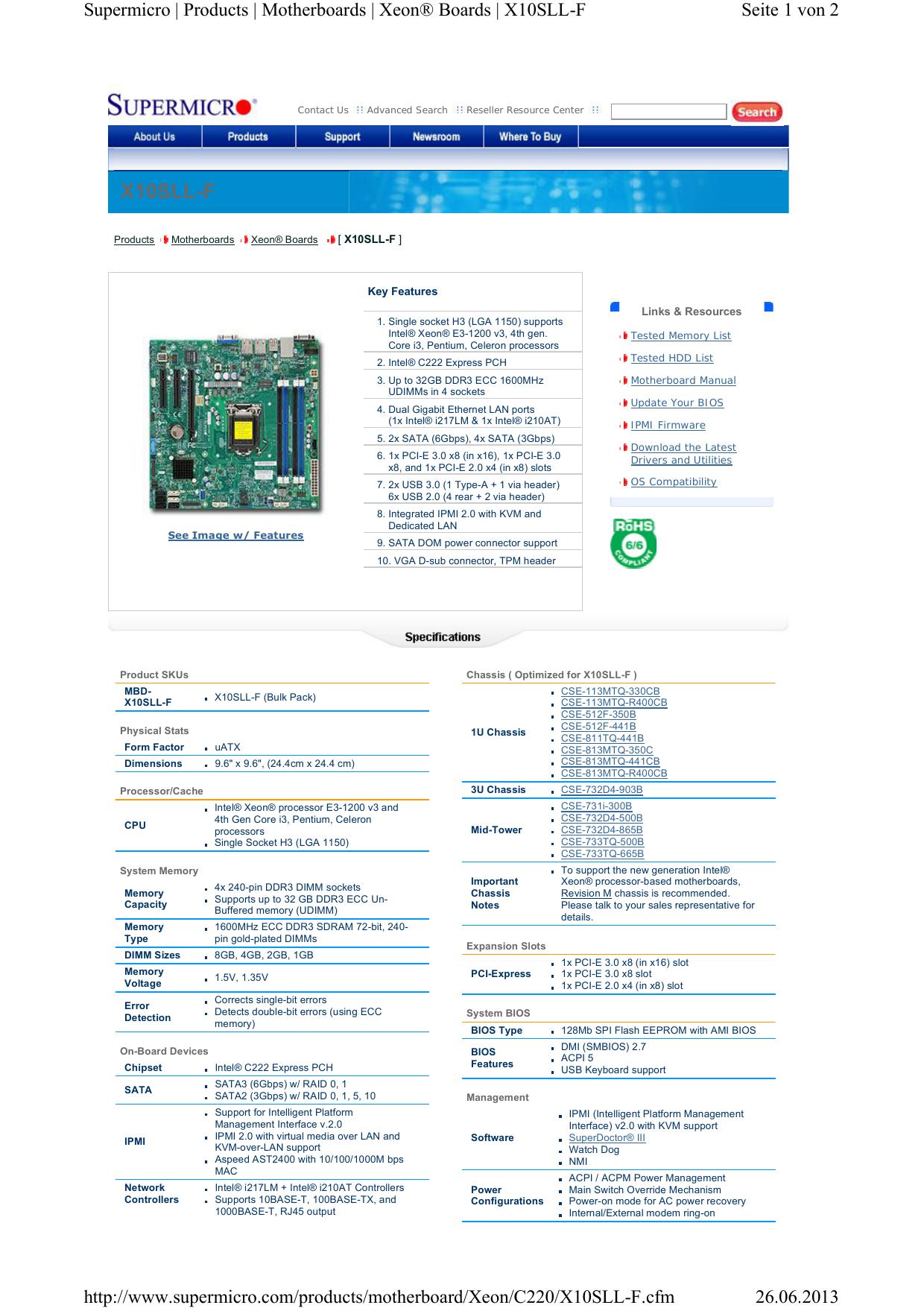 X10SLL-F - devinfo net | manualzz com