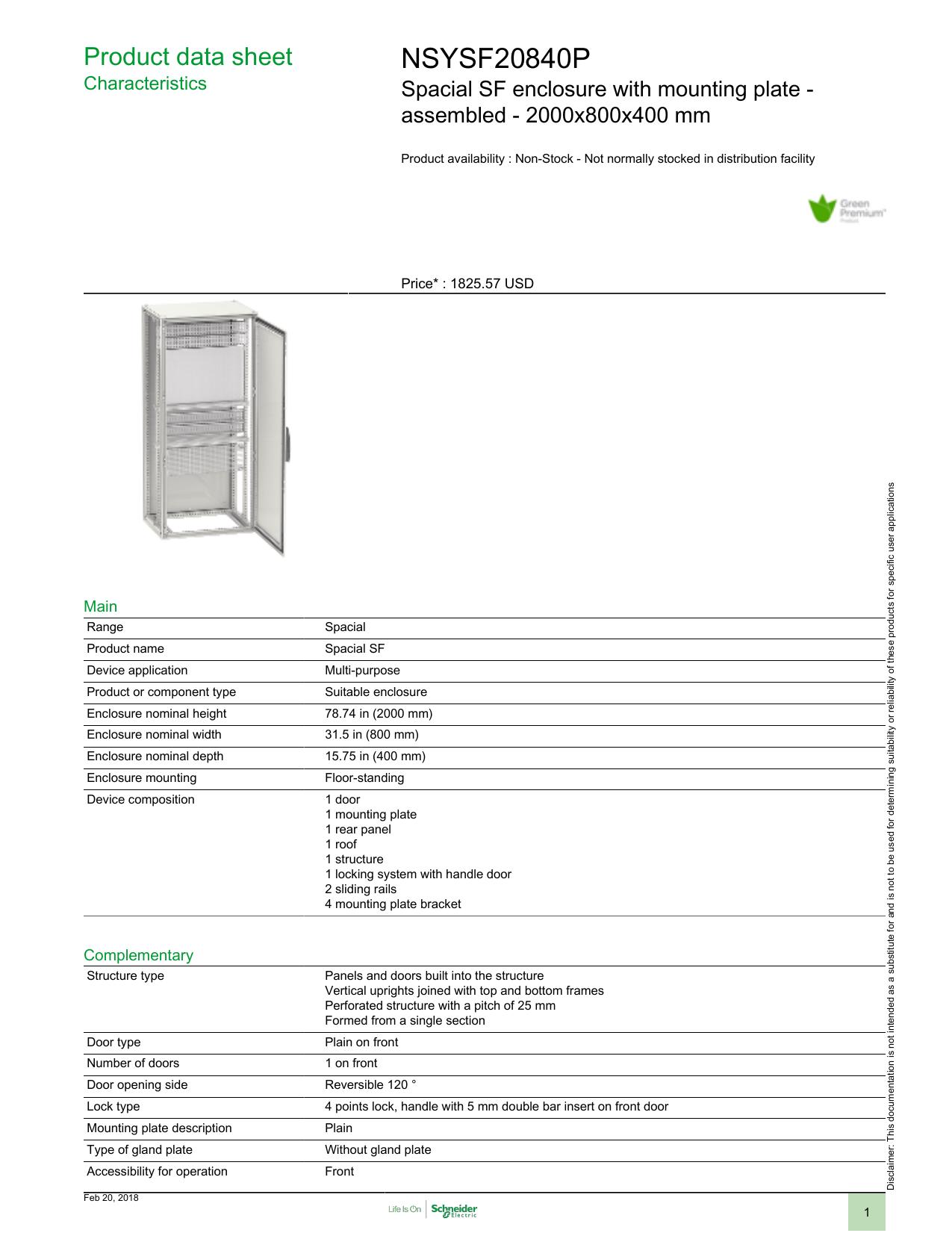 nsysf8p   Schneider Electric   Manualzz