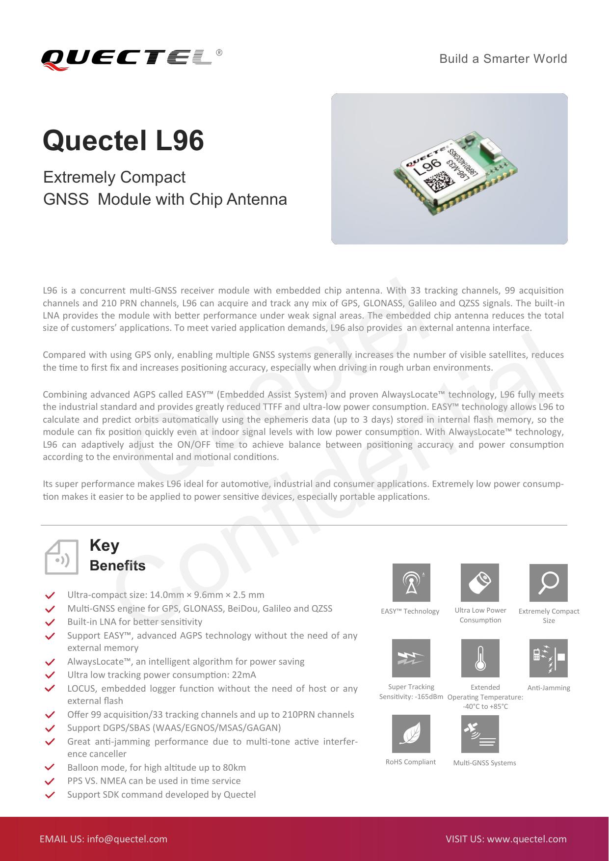 Quectel L96 | manualzz com
