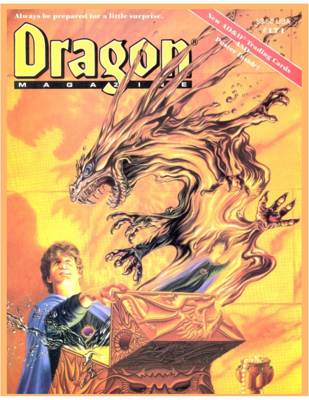 Dragon Magazine #171 | manualzz com