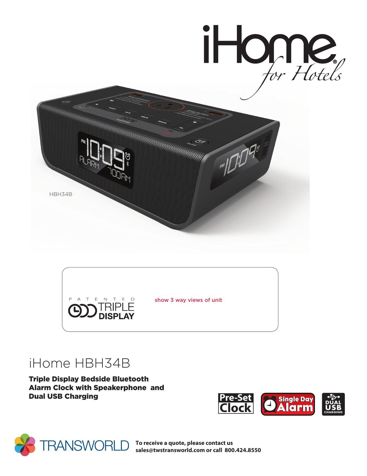 HBH34 Spec indd | manualzz com
