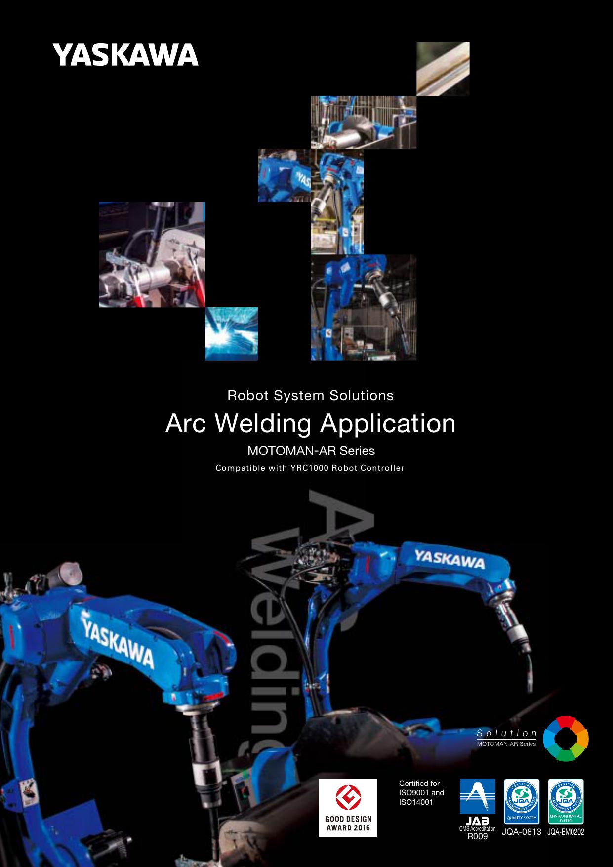 Robot System Solutions Arc Welding Application MOTOMAN | manualzz com