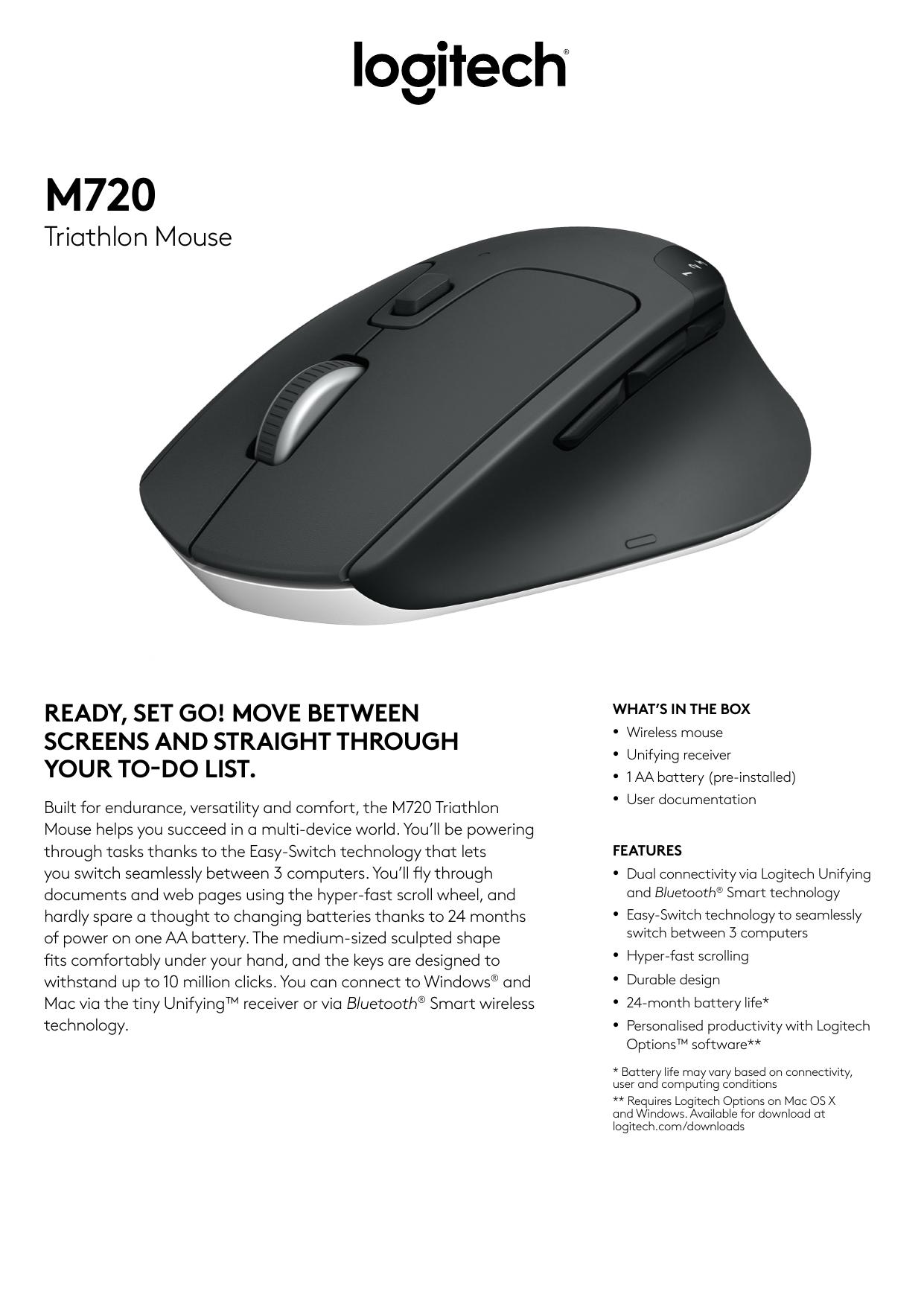 Triathlon Mouse | manualzz com