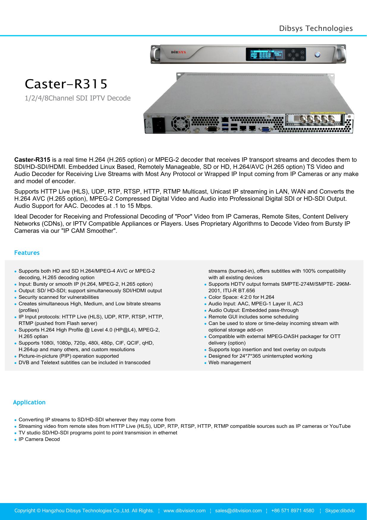Caster-R315   manualzz com