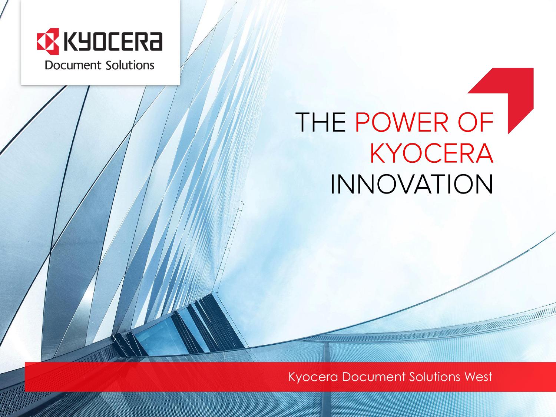 Kyocera Document Solutions West | manualzz com