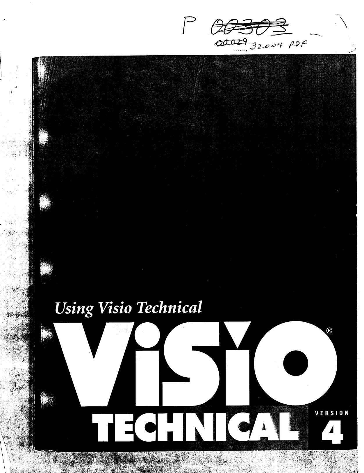 Using Visio Technical Visio Technical Version 4 Manualzz